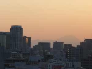 A terrible photo of Fuji-san
