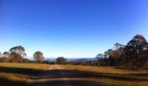 One of many trails in Canberra