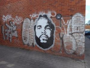 Mr T street art
